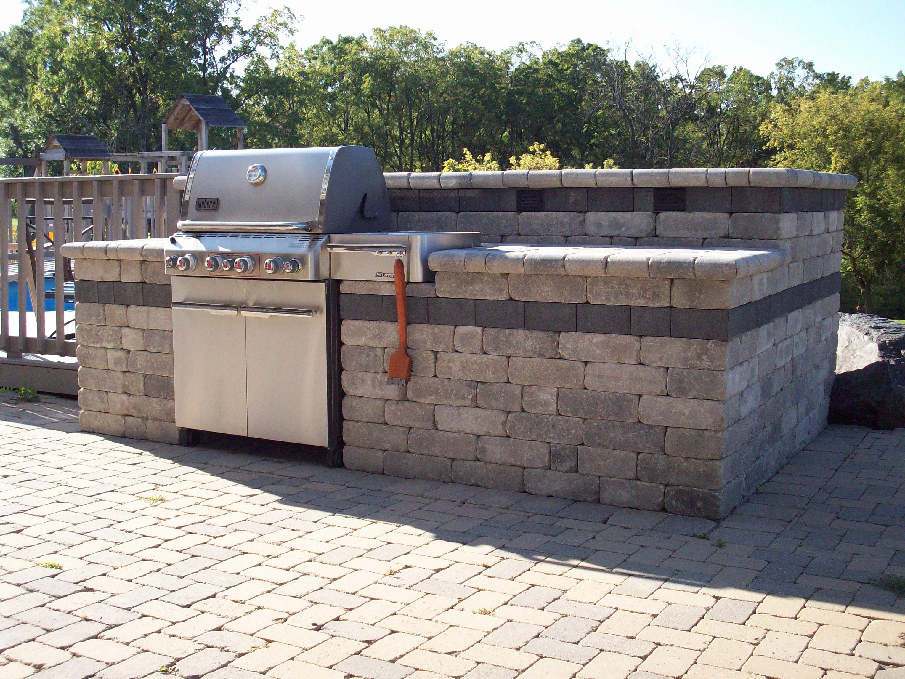 Outdoor Grilling Bar Construction : Landscape construction llc grill outdoor kitchen